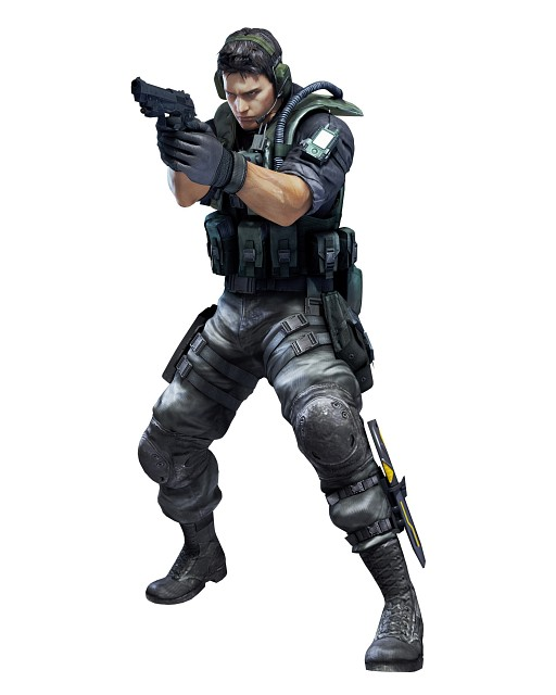 Capcom, Resident Evil: Revelations, Chris Redfield, Official Digital Art