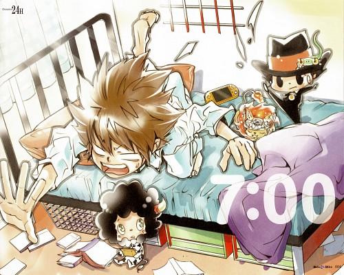 Akira Amano, Artland, Katekyo Hitman Reborn!, REBO to DLIVE, Lambo