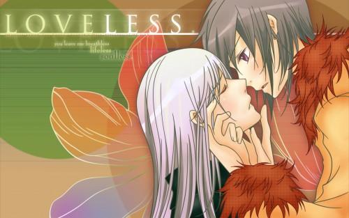 Loveless, Ritsuka Aoyagi, Soubi Agatsuma Wallpaper