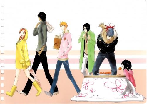 Kubo Tite, Bleach, Orihime Inoue, Rukia Kuchiki, Uryuu Ishida
