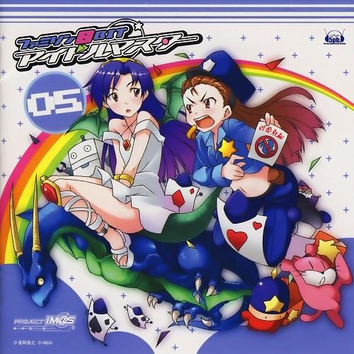 Namco, A-1 Pictures, Idol Master, Chihaya Kisaragi, Iori Minase