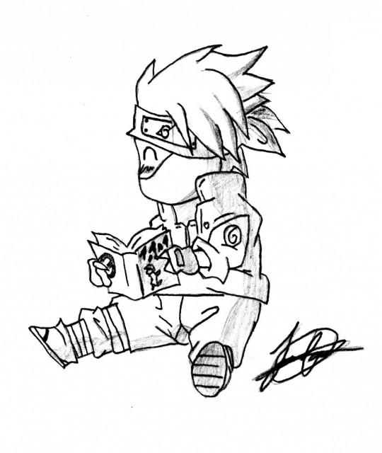 Masashi Kishimoto, Studio Pierrot, Naruto, Kakashi Hatake, Member Art