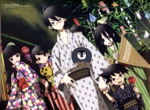 Shaft (Studio), Sayonara Zetsubou Sensei, Nozomu Itoshiki, Kafuka Fuura, Majiru Itoshiki