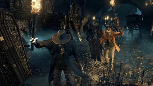 FromSoftware, Sony Computer Entertainment Inc, Bloodborne, Game CG