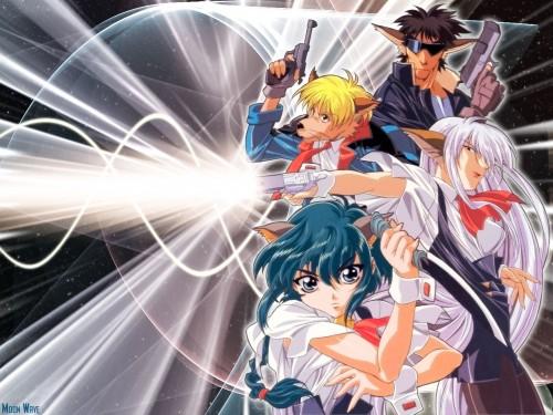 Studio Pierrot, Hyper Police, Tommy Fujioka, Natsuki Sasahara, Batanen Fujioka Wallpaper