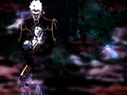 Yoshitaka Amano, Vampire Hunter D, Charlotte (Vampire Hunter D), Meier Link Wallpaper