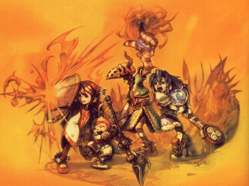 Final Fantasy Crystal Chronicles Wallpaper