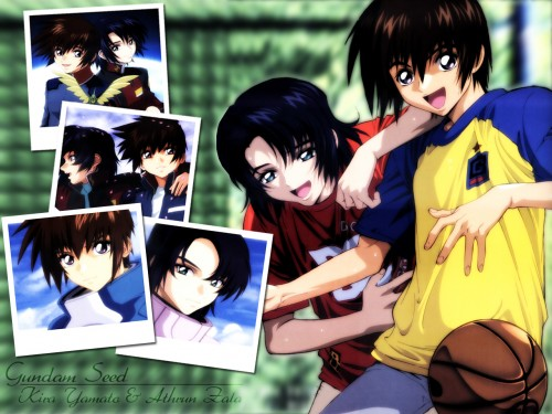 Sunrise (Studio), Mobile Suit Gundam SEED, Athrun Zala, Kira Yamato Wallpaper