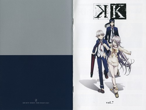 GoHands, K Project, A Memory of Kings - K Official Guide Book, Yashiro Isana, Kuroh Yatogami