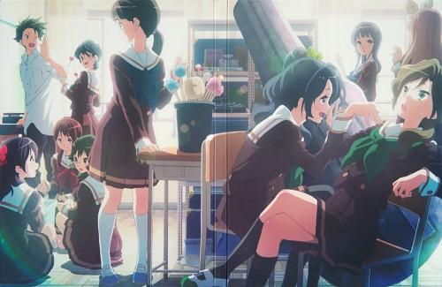 Shouko Ikeda, Kyoto Animation, Pony Canyon, Hibike! Euphonium, DVD Cover