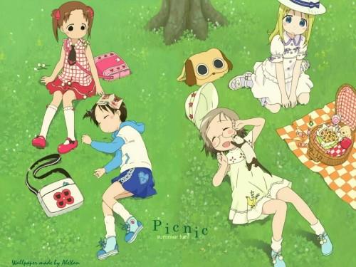 Barasui, Ichigo Mashimaro, Ana Coppola, Matsuri Sakuragi, Miu Matsuoka Wallpaper