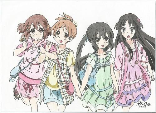 Kyoto Animation, K-On!, Mio Akiyama, Ui Hirasawa, Yui Hirasawa