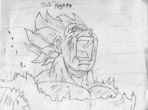 Akira Toriyama, Dragon Ball, Super Saiyan Vegeta, Member Art
