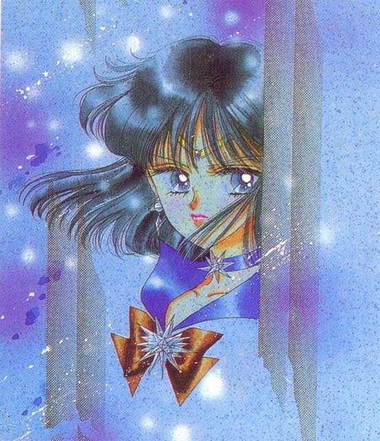 Naoko Takeuchi, Bishoujo Senshi Sailor Moon, BSSM Original Picture Collection Vol. V, Sailor Saturn