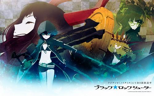 Black Rock Shooter, Black Gold Saw, Dead Master, Black Rock Shooter (Character), Chariot