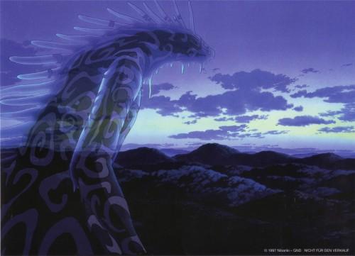 Kazuo Oga, Studio Ghibli, Princess Mononoke, Shishigami