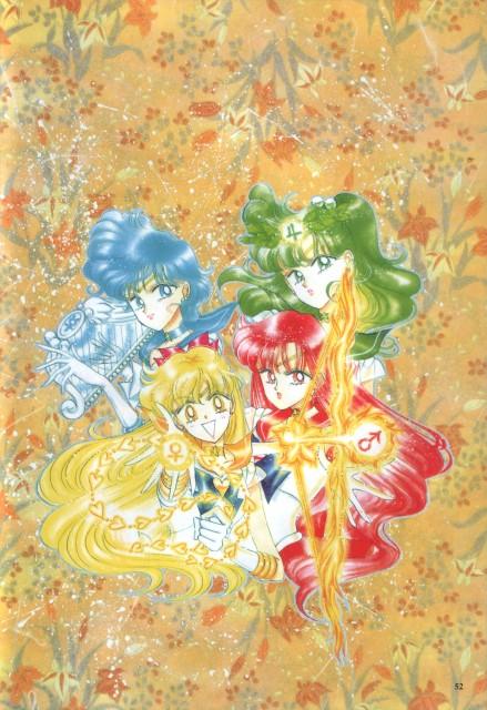Naoko Takeuchi, Bishoujo Senshi Sailor Moon, BSSM Original Picture Collection Vol. IV, Sailor Jupiter, Sailor Mercury