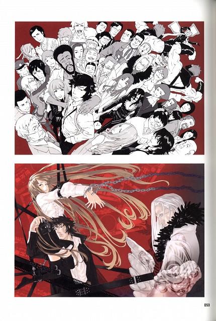 Yuusuke Kozaki, Tomozo, Gonzo, Speed Grapher, KYMG - Yusuke Kozaki Illustrations