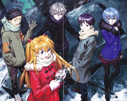 Yoshiyuki Sadamoto, Gainax, Neon Genesis Evangelion, Shinji Ikari, Kaworu Nagisa