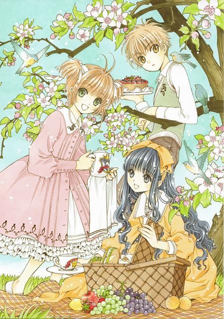 CLAMP, Cardcaptor Sakura, Syaoran Li, Sakura Kinomoto, Tomoyo Daidouji