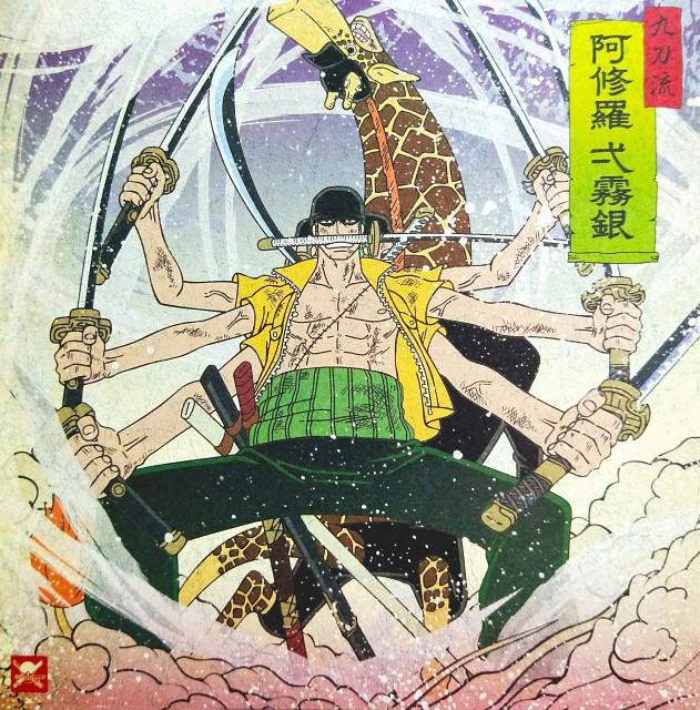 Eiichiro Oda, Toei Animation, One Piece, Roronoa Zoro, Kaku