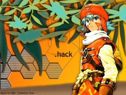 Yoshiyuki Sadamoto, .hack//Infection, Kite (.hack//infection) Wallpaper