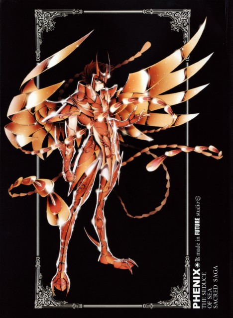 Masami Kurumada, Future Studio, Saint Seiya, Sacred Saga, Phoenix Ikki