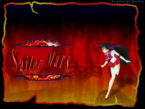 Toei Animation, Bishoujo Senshi Sailor Moon, Sailor Mars Wallpaper