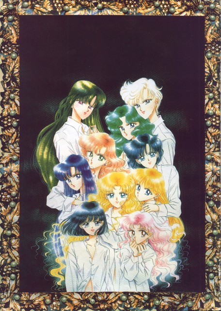 Naoko Takeuchi, Bishoujo Senshi Sailor Moon, BSSM Original Picture Collection Vol. IV, Usagi Tsukino, Haruka Tenoh