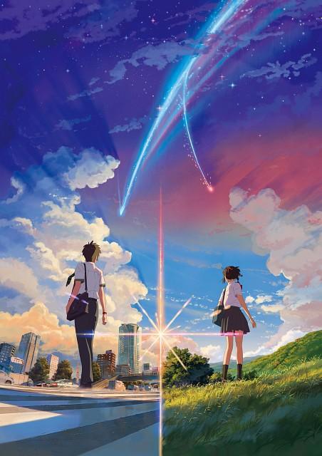 Makoto Shinkai, CoMix Wave Films, Kimi no Na wa, Taki Tachibana, Katsuhiko Teshigawara