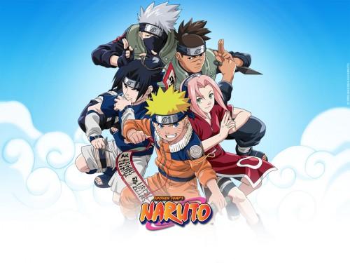 Studio Pierrot, Naruto, Sakura Haruno, Sasuke Uchiha, Iruka Umino Wallpaper