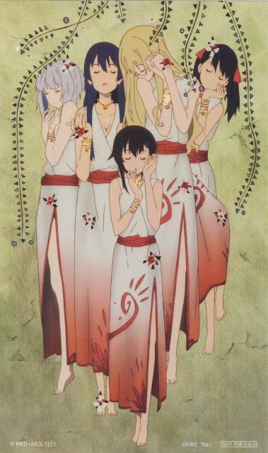 Sora no Woto, Noel Kannagi, Rio Kazumiya, Filicia Heideman, Kureha Suminoya