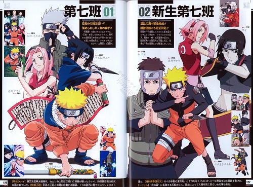 Studio Pierrot, Naruto, Naruto Juunen Hyakunin, Yamato , Naruto Uzumaki