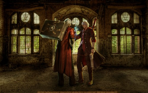 Madhouse, Capcom, Devil May Cry, Nero, Dante Wallpaper