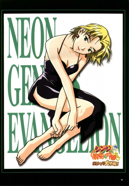 Yoshiyuki Sadamoto, Gainax, Neon Genesis Evangelion, Ritsuko Akagi
