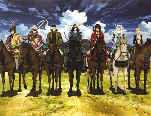 Makoto Tsuchibayashi, Capcom, Production I.G, Sengoku Basara, Kojuro Katakura