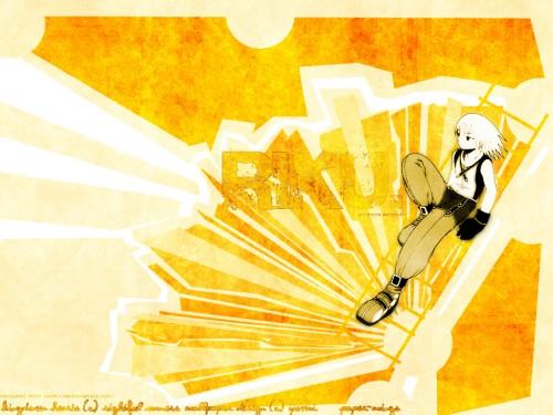 Shiro Amano, Square Enix, Kingdom Hearts, Riku Wallpaper