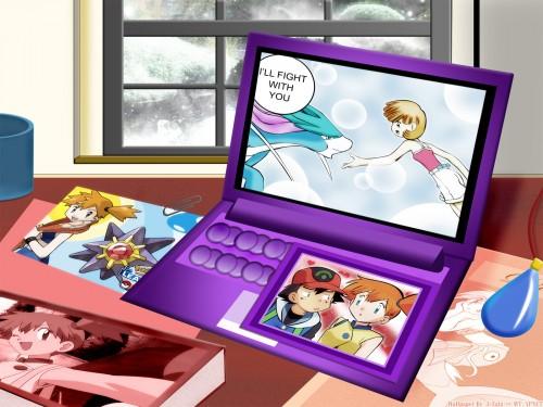Nintendo, Pokémon, Misty, Ash Ketchum, Vector Art Wallpaper