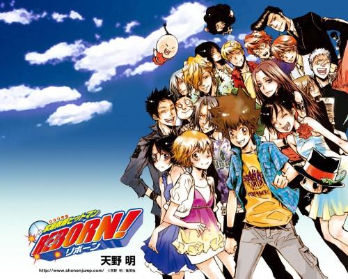Akira Amano, Artland, Katekyo Hitman Reborn!, Ryohei Sasagawa, Giannini