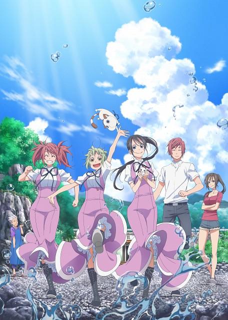 Kozue Amano, Amanchu!, Makoto Ninomiya, Ai Ninomiya, Kino Kohinata