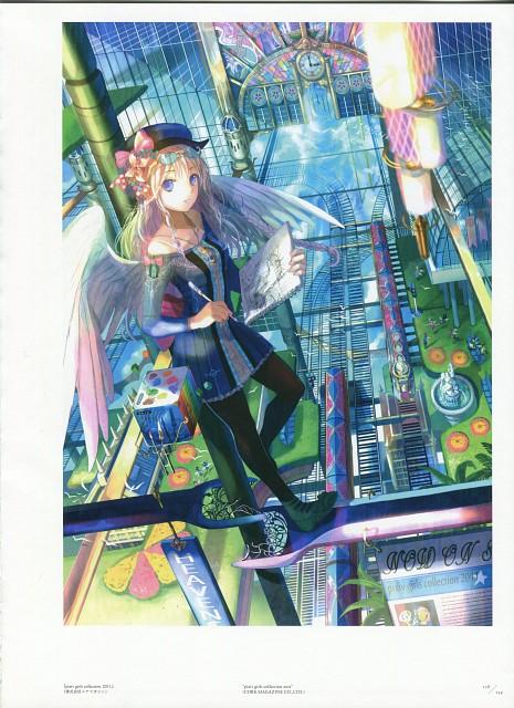 Fujiwara, Pixiv Girls Collection 2011, Gokusai Shoujo Sekai, Fuji Shiki, Pixiv