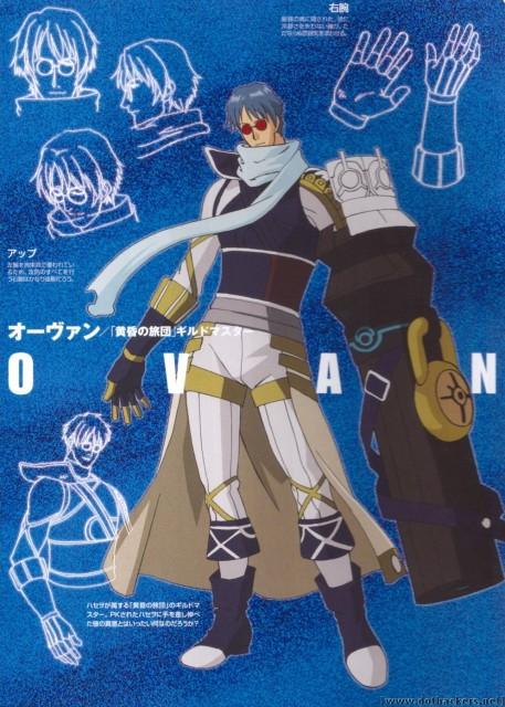 Yoshiyuki Sadamoto, .hack//G.U., Ovan, Character Sheet