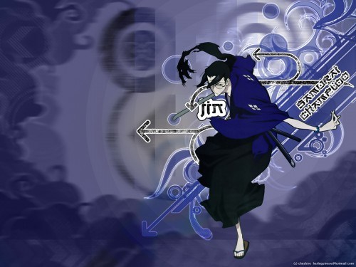 Samurai Champloo, Jin Wallpaper