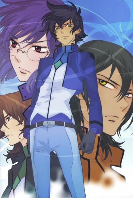 Yun Kouga, Mobile Suit Gundam 00, Gundam 00 Yun Kouga: Dear Meisters Comic & Arts, Setsuna F. Seiei, Lockon Stratos