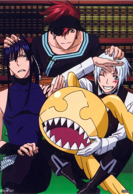 TMS Entertainment, D Gray-Man, Timcanpy, Yu Kanda, Allen Walker