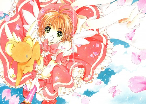 CLAMP, Madhouse, Cardcaptor Sakura, Cardcaptor Sakura Illustrations Collection 1, Keroberos