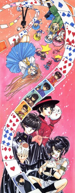 CLAMP, Miyuki-chan in Wonderland, CLAMP North Side, Nokoru Imonoyama, Subaru Sumeragi