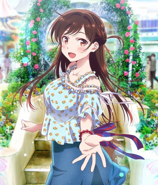 TMS Entertainment, Kanojo Okarishimasu, Chizuru Mizuhara, Official Digital Art