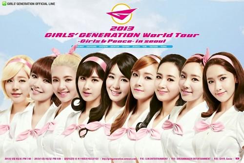 Tiffany, Jessica, Yoona, Seohyun, Sooyoung