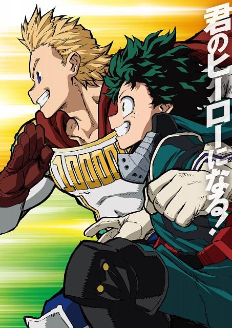 BONES, Boku no Hero Academia, Izuku Midoriya, Mirio Togata, Official Digital Art